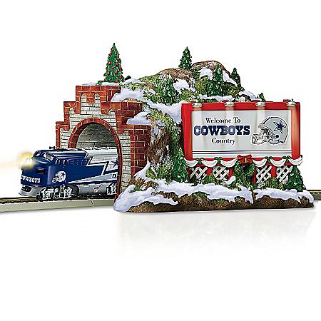Train Accessory: NFL Dallas Cowboys Christmas Mountain Tunnel