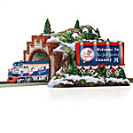 Hawthorne Village Train Accessory: MLB New York Yankees Christmas Mountain Tunnel