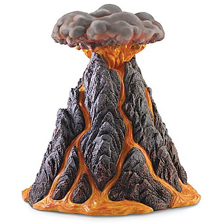 Mount Eruptus Sculpture
