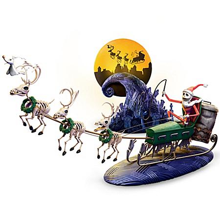 Christmas Village Collectibles Village Set: Tim Burton's Nightmare Before Christmas 20th Anniversary Village Set