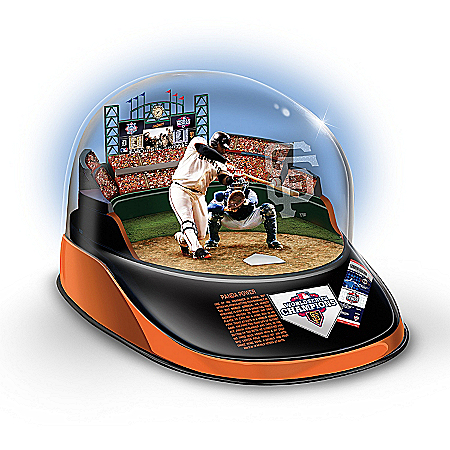 MLB San Francisco Giants 2012 World Series Signature Moment Sculpture