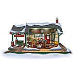 Santa's Ultimate Train Workshop Christmas Sculpture