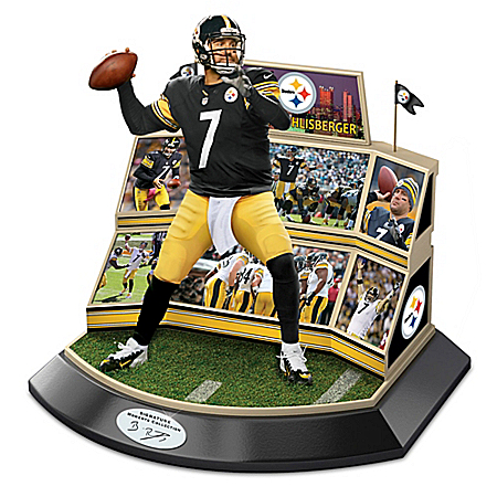 NFL Legends Of The Game Ben Roethlisberger Pittsburgh Steelers Sculpture