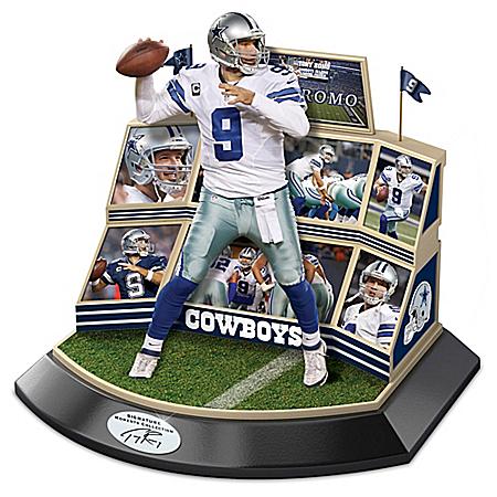 NFL Legends Of The Game Tony Romo Dallas Cowboys Sculpture