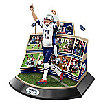 New England Patriots Super Bowl LI Championship Moments Tom Brady Sculpture