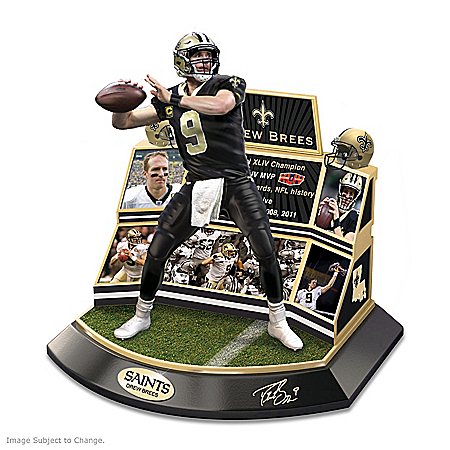 New Orleans Saints Legend Drew Brees Commemorative Sculpture