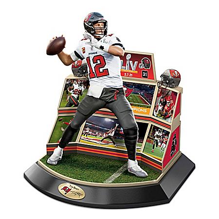 Tampa Bay Buccaneers NFL Super Bowl LV Championship Moments Sculpture