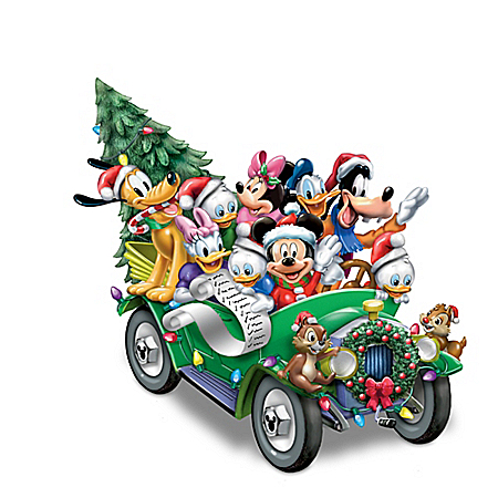 Disney Once Upon A Holiday Musical Light Up Sculpture