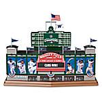 Wrigley Field - Go Chicago Cubs Go Musical MLB Sculpture