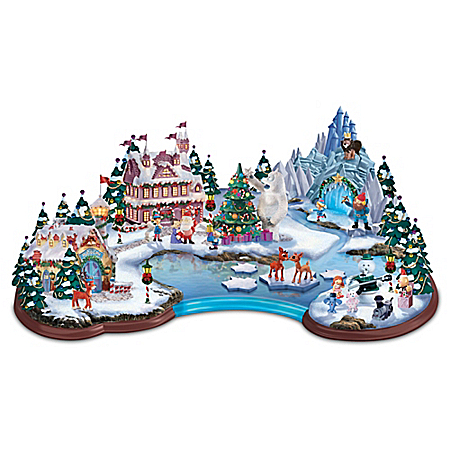 Christmas Village Collectibles Rudolph's Christmas Cove Sculpture
