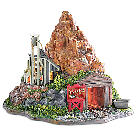 Silverton Mine Landscape Masterpiece Illuminated Sculpture