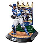 Kansas City Royals 2015 World Series Commemorative Salvador Perez Sculpture