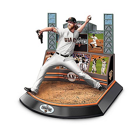 San Francisco Giants 2014 World Series Signature Moment Sculpture