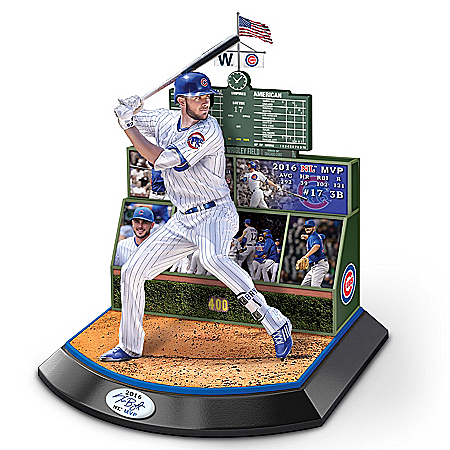 Chicago Cubs 2016 Commemorative Kris Bryant Sculpture