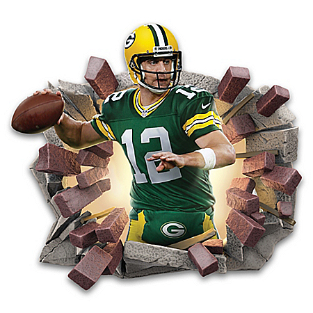 Aaron Rodgers Breakout Wall Decor