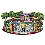 Elvis Presley Welcome To Graceland! Illuminated Musical Sculpture