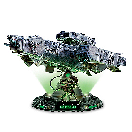 Alien: Nostromo Illuminated Masterpiece Sculpture