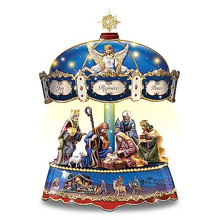 Thomas Kinkade Blessing Of Bethlehem Carousel