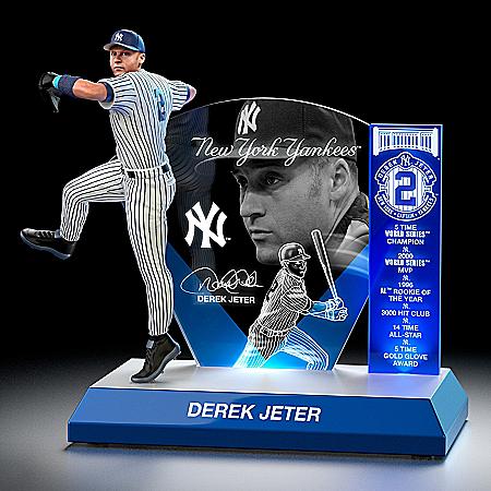 MLB Luminaries: Derek Jeter Lighted Tribute Sculpture