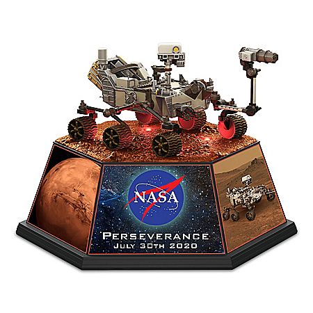 2020 Mars Rover Illuminated Sculpture With Extendable Arm