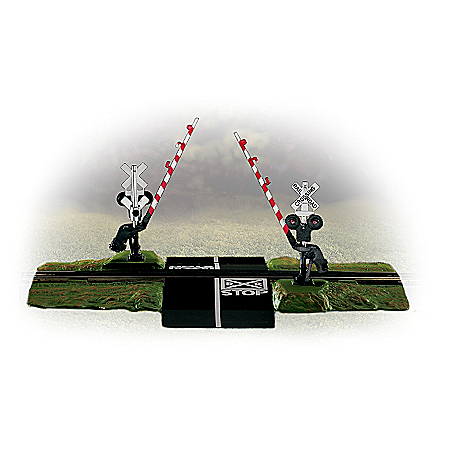 Summer Crossing Gate Train Accessory Set