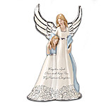 """""""My Precious Daughter"""" Collectible Porcelain Angel Figurine"""