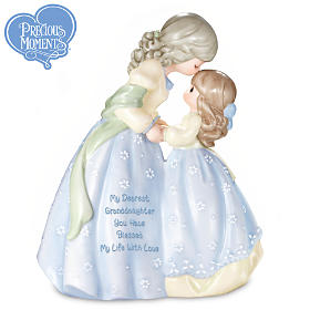 Precious Moments My Dearest Granddaughter Figurine