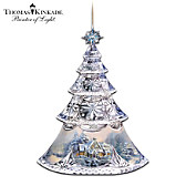 Thomas Kinkade Shimmering Elegance Ornament