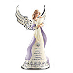 Precious Treasure Collectible Personalized Birthstone Angel Figurine: Gift For New Moms
