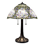 Lena Liu Glorious Gardens Stained Glass Table Lamp