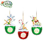 Disney Tinker Bell's Holiday Jingling Christmas Ornament