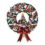Meowy Christmas Wreath: Cat-Themed Christmas Decoration