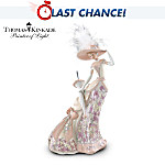 Thomas Kinkade Catherine's Daydream In The Lily Garden Figurine