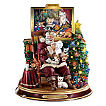 Meowy Christmas Figurine: Cat Lovers Christmas Decor