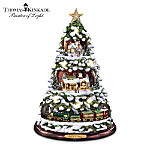 Thomas Kinkade Home For The Holidays Tabletop Tree