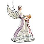 My Granddaughter, My Joy Musical Angel Figurine