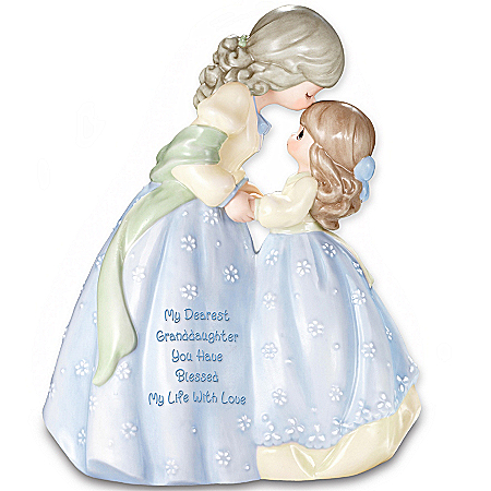 Precious Moments Collectible My Dearest Granddaughter Musical Figurine