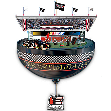 Dale Earnhardt Collectibles Dale Earnhardt NASCAR Racecar Christmas Ornament: The Intimidator