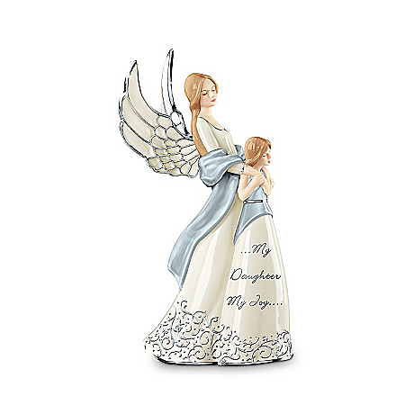 My Daughter, My Joy Musical Porcelain Figurine