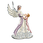 My Granddaughter, My Joy Musical Angel Figurine