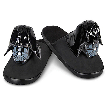 STAR WARS: Darth Vader Plush Slippers For Adults