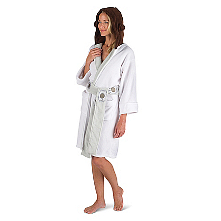 STAR WARS Princess Leia Hooded Fleece Robe