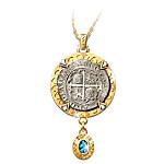 Sao Jose Shipwreck Silver Pendant Necklace: Sao Jose Sunken Treasure