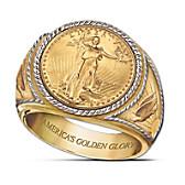Saint-Gaudens Gold Proof Ring