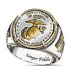 The USMC Commemorative Proof Men's Ring