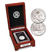 """The First """"W"""" Mint U.S. Silver Dollar Coin"""