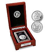 The First-Ever Error Morgan Silver Dollar Coin