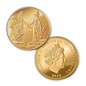 The First-Ever Liberty And Britannia Gold Crown Coin