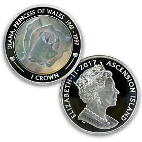 Princess Diana First Day Silver Proof Coin