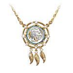 Noble Spirit Buffalo Nickel Dreamcatcher Necklace